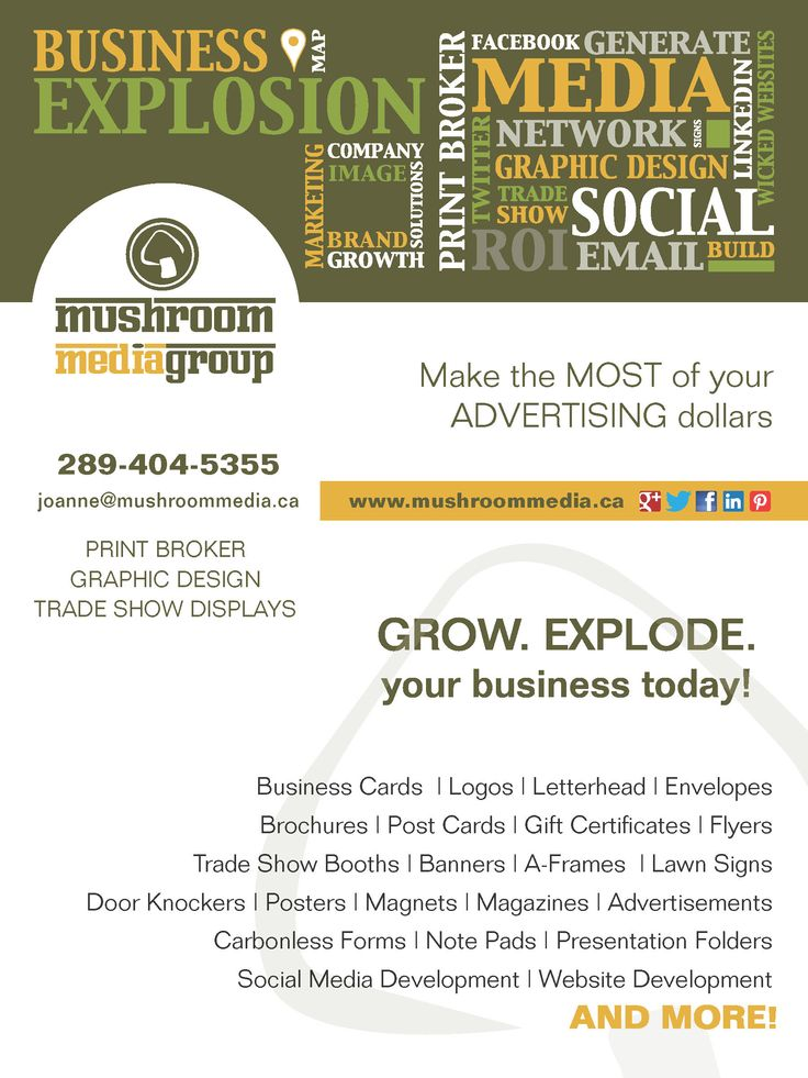 I am a small business solution expert providing Graphic Design, Print Brokering and Trade Show solutions at affordable prices.