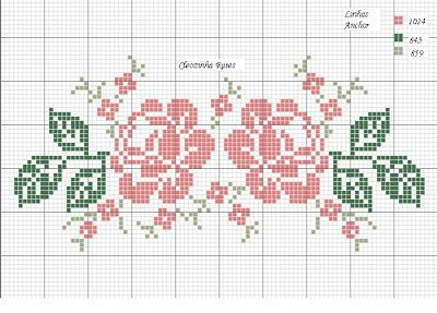 """Bordados em Ponto Cruz da Cleozinha: Rosas [   """"Free double rose cross stitch chart"""",   """"Tablecloth designs"""",   """"pixels"""",   """"roses"""" ] #<br/> # #Cross #Stitch3,<br/> # #Cross #Stich #Cross,<br/> # #Cross #Stitch #Roses,<br/> # #Cross #Point,<br/> # #Cross #Stitch #Charts,<br/> # #Cross #Stitch #Embroidery,<br/> # #Point #Cleozinha,<br/> # #Flowers #Stitch,<br/> # #Stitching #Flowers<br/>"""