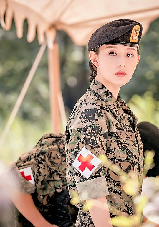 Kim Ji Won | Descendants of the Sun. She is pretty. =) I love how the second main leads' as equally pretty as the main lead (in other way)
