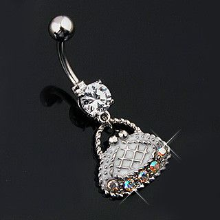 Purse Navel Ring