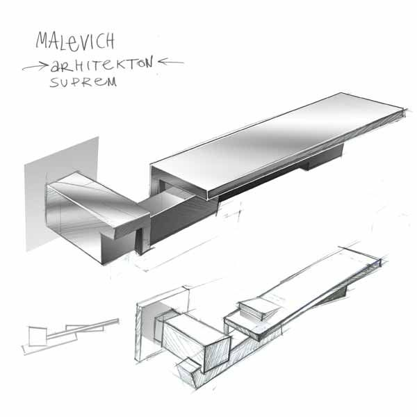 door handle MALEWICH