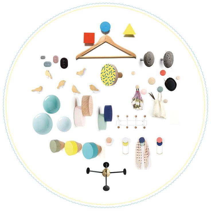 patre design les patres design dtrnent le portemanteau elle dcoration - Patere Colore