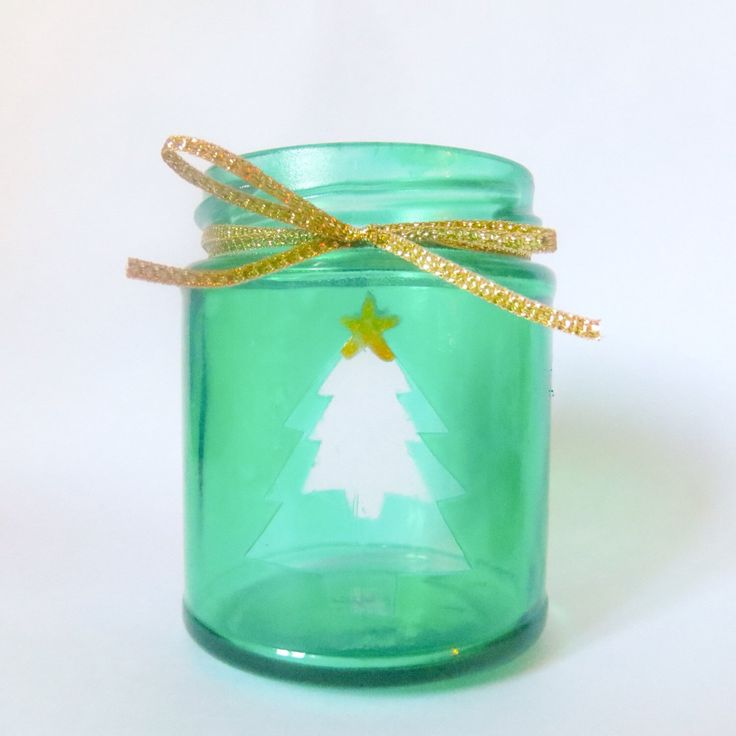 A personal favorite from my Etsy shop https://www.etsy.com/uk/listing/249835026/christmas-tree-jam-jar-tea-light-candle