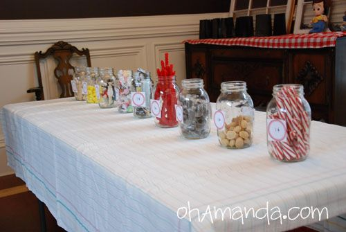 """Little House on the Praire: set up a 1 cent candy shop, give all the kids a bunch of pennies to """"shop"""""""