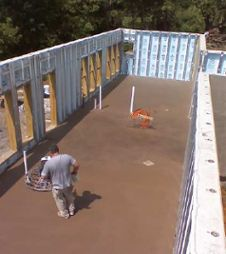 net zero energy home vandemusser design north carolina basement slab superior wall
