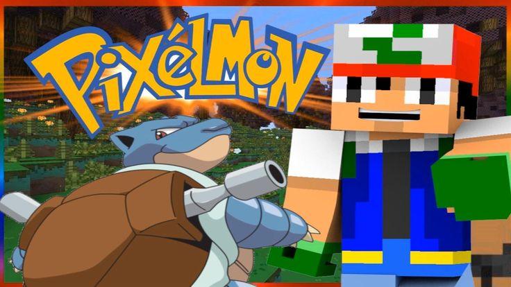 ITS YA BOI BLASTOISE !! - PIXELMON #6 (Pokemon Minecraft Mod) /W KILLERKEV