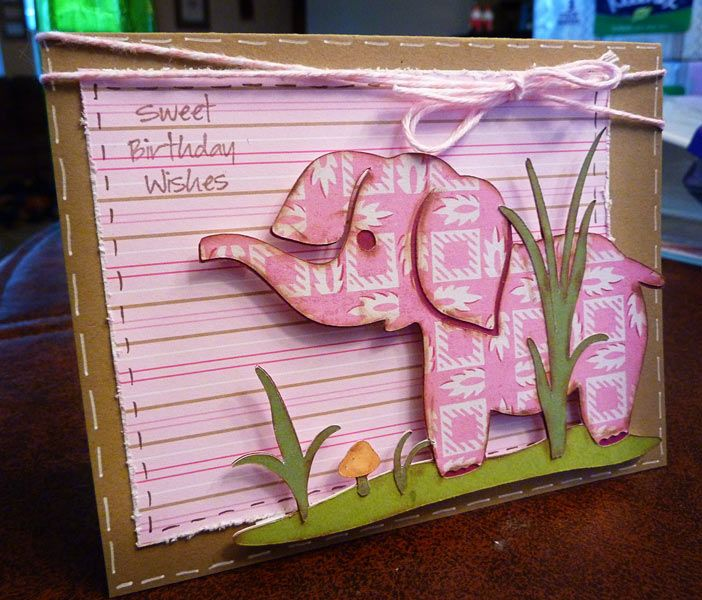 Homemade Birthday Card For 2 Year Old Girl Cardmaking Ideas