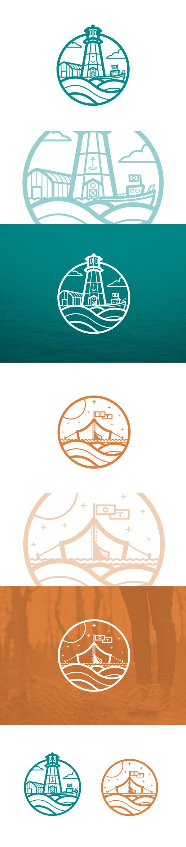 Maritime Icons/Marks on Behance