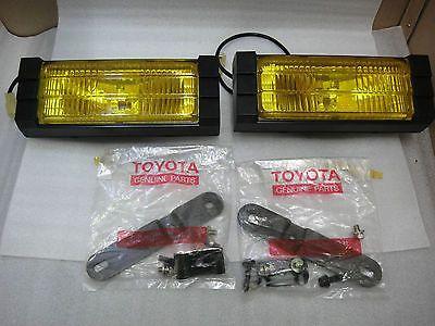 Jdm Toyota Koito Fog Lights Levin Ae86 Celica Ma61 63 Aw11