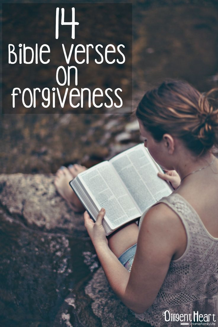 Forgiveness can be difficult. In our day-to-day people will do or say things that offend us, rather than hold a grudge – the Bible teaches us to forgive them. Having an unforgiving heart leads to bitterness, and a heart that is bitter can not love as it ought to love. Here are 14 Bible Verses on Forgiveness to encourage your heart.  adiligentheart.com