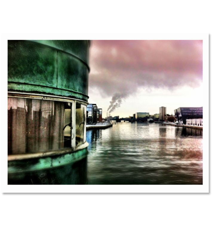 Smoke Becomes Clouds, Luke Lorimer. Where: This photo was taken in the middle of Knippelsbro Copenhagen where the smoke from the factories seemed to become the clouds. Buy this piece on www.artrebels.com #artrebels #photography #art