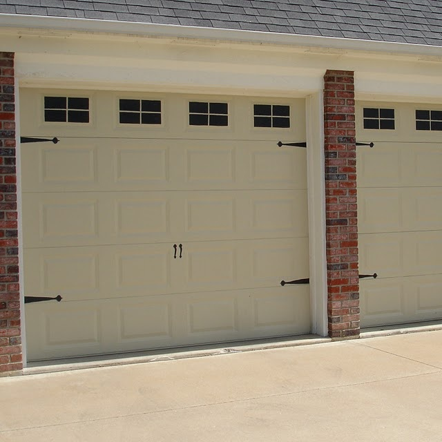 faux carriage house garage door