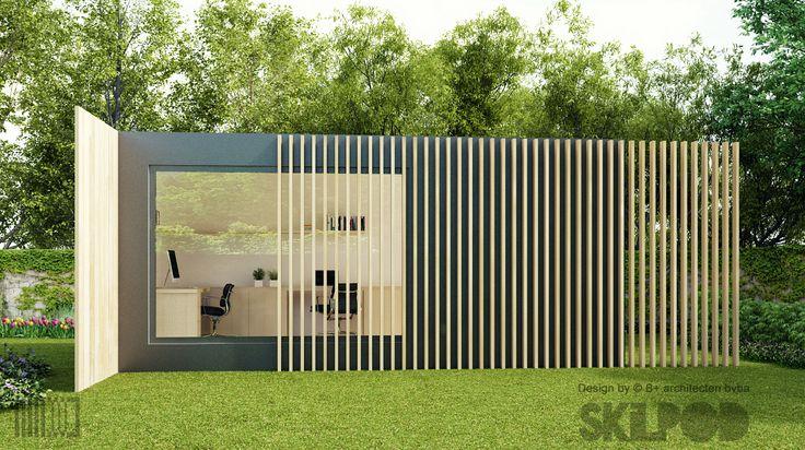 Skilpod-Bureau-medium-tuinbureau-tuin-kantoor