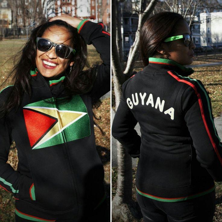 Guyana Flag Jacket - CARIBBEAN APPAREL™