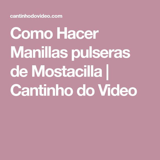 Como Hacer Manillas pulseras de Mostacilla   Cantinho do Video
