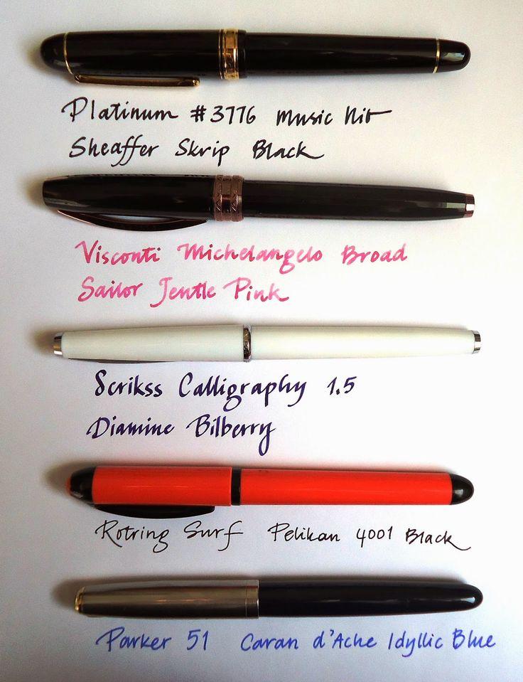 Write to Me Often: Currently Inked / Mürekkepliler