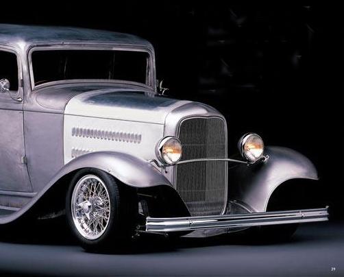 Eric Clapton's 1932 Ford Victoria dressed in Borrani Wheels!