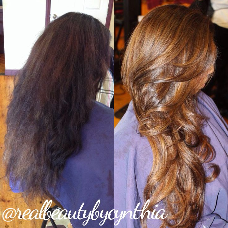 Before And After Color Correction Removing Black To