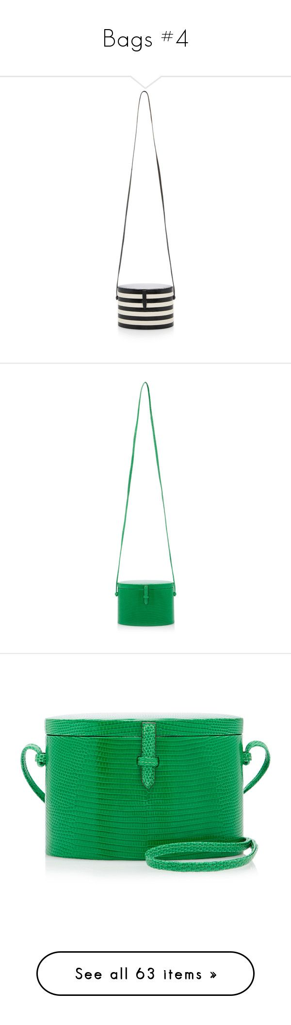 """Bags #4"" by lajudy ❤ liked on Polyvore featuring bags, handbags, shoulder bags, white black, balenciaga shoulder bag, genuine leather handbags, black and white leather handbags, leather shoulder handbags, black and white handbags and green"