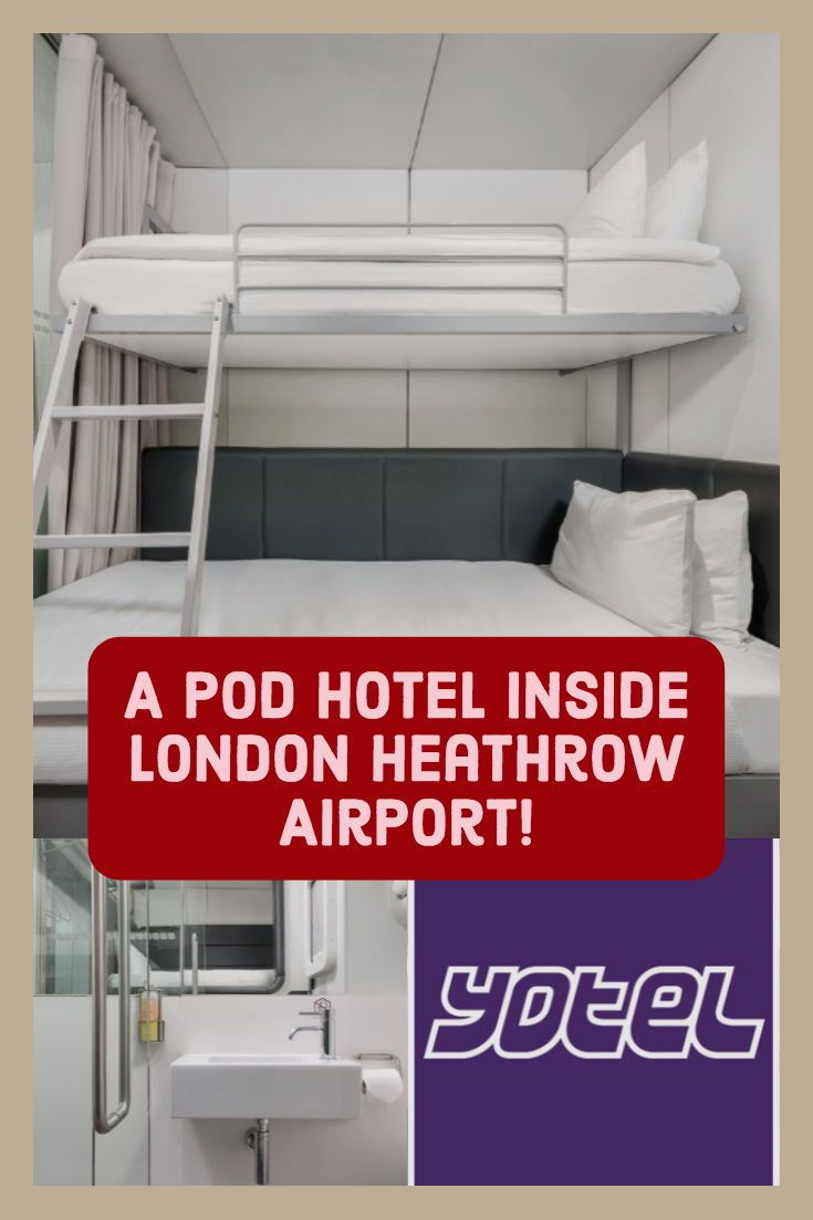 Yotel Hotel London Heathrow Airport With Images London Hotels