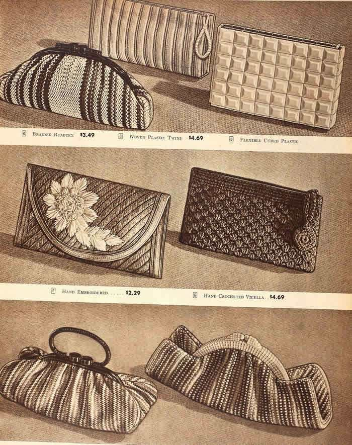 1945 Summer Handbags - Sears Catalog
