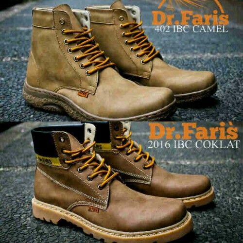 Sepatu Pria Boots Dr. FARIS sz 39-43 @279 Pin:331E1C6F 085317847777 www.butikfashionmurah.com