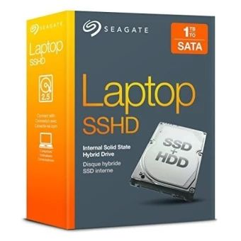 บอกต่อ  Seagate STBD1000400 1TB HDD 8GB SSD Laptop SSHD Internal Kit/shipfrom USA / Flyingcoco - intl  ราคาเพียง  8,718 บาท  เท่านั้น คุณสมบัติ มีดังนี้ Combines a 1TB 5,400 rpm hard drive and 8GB of solid state MLCflash Add SSD-like performance to any laptop Adaptive Memory technology intelligently monitors thefrequently used files and stores them in the solid state memory forblazing fast recall 9.5mm design for maximum capacity laptops Upgrade PS4 game console internal storage - Up to 5x…