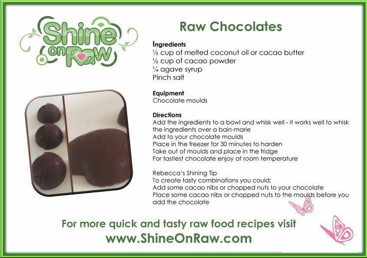 Raw Chocolates