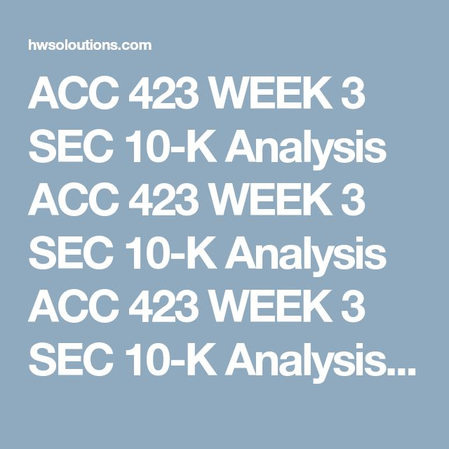 ACC 423 WEEK 3 SEC 10-K Analysis ACC 423 WEEK 3 SEC 10-K Analysis ACC 423 WEEK 3 SEC 10-K Analysis ReadtheSEC 10-K for Ford Motor, Company. Alternatively, you can useSecurities and Exchange Commission's (SEC) Edgar filing systemto view this information.  Writea 350- to 700-word paper describing the amounts of current and deferred income taxes.  Explainthe items that affect both these classifications.  Providedetails of the current and long-term portion of the deferred taxes. Be sure…