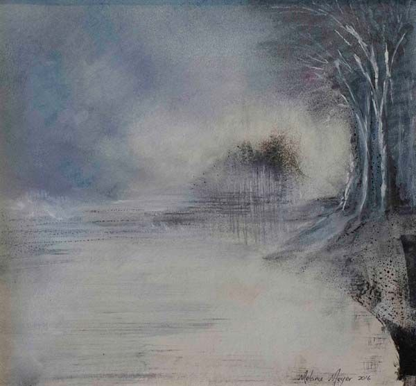 Winter's Reflections by Melanie Meyer created in 2016