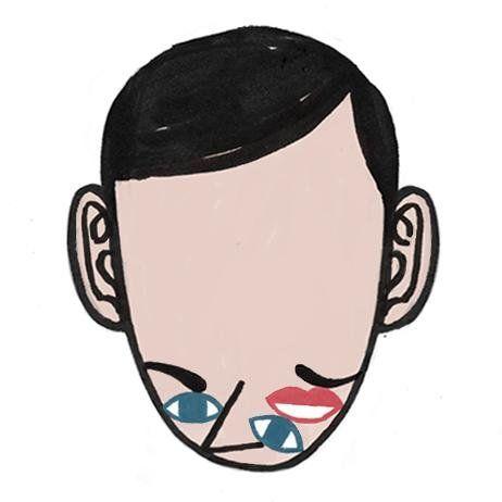 Dadu Shin (#dadushin) self-portrait