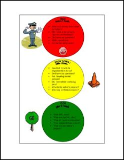 """FREE LANGUAGE ARTS LESSON - """"Traffic Light Before, During, and After Reading Strategies"""" - Go to The Best of Teacher Entrepreneurs for this and hundreds of free lessons. 2nd - 6th Grade   #FreeLesson   #LanguageArts   http://thebestofteacherentrepreneursiv.blogspot.com.co/2016/09/free-language-arts-lesson-traffic-light.html"""