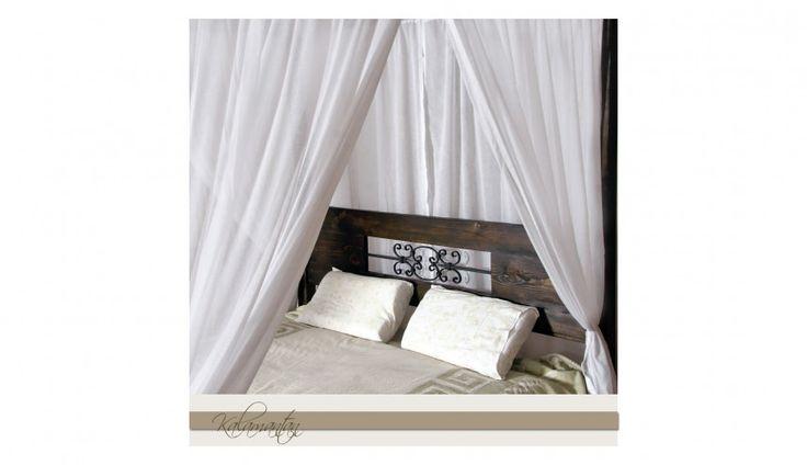 Łóżko z baldachimem jest tylko w sferze marzeń? Nic bardziej mylnego! Łoże Madura jest w 100% wykonane z litego drewna. Prawda, że piękne?  http://www.mega-meble.pl/produkt-Loze_z_baldachimem_Madura-845