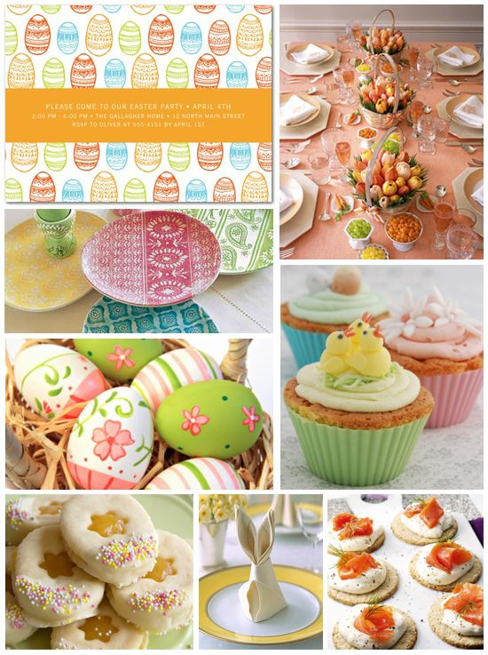 Easter Party Inspiration Boards