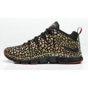 Nike Free Trainer 7.0 Metallic Goud Leopard / Gym Rood / Zwart Heren Loopschoenen sale Nederland