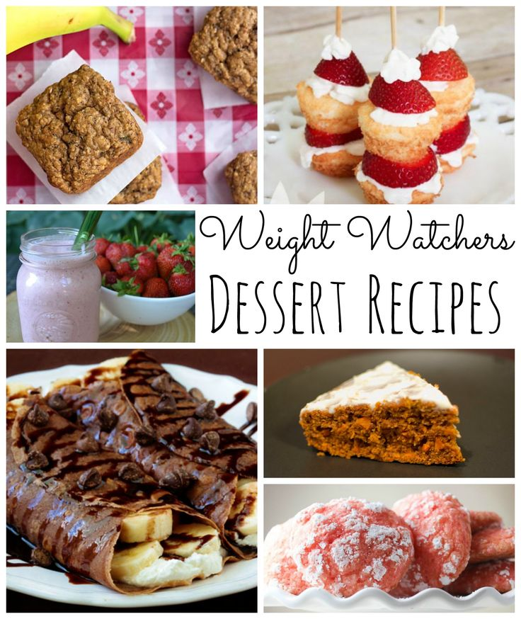 300 Best Weight Watchers Dessert Recipes Images On