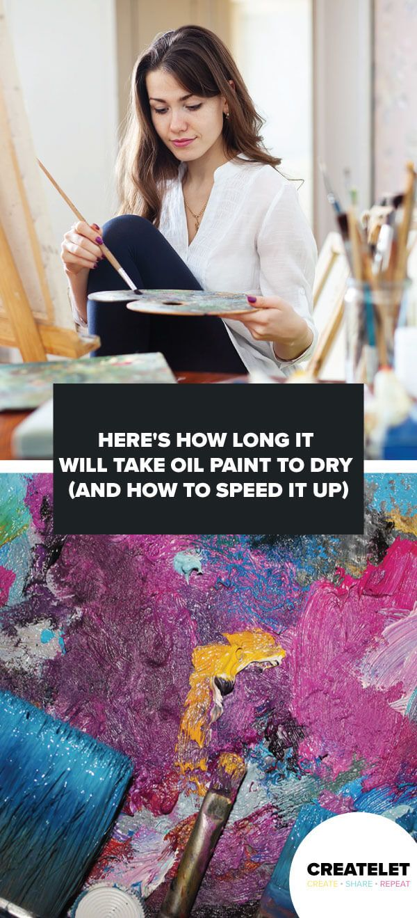 How Long Will It Take Oil Paint To Dry Oil Painting Oils Painting