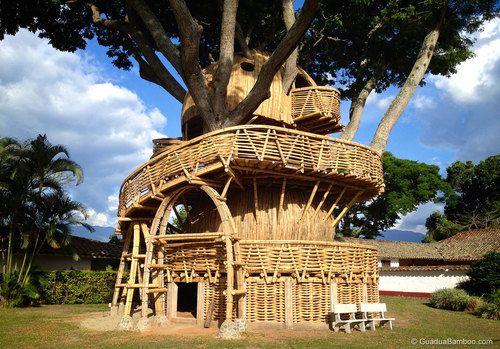 Bamboo Treehouse