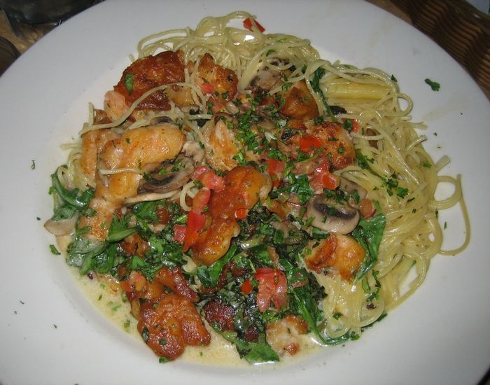 Cheesecake Factory Restaurant Copycat Recipes: Bistro Shrimp Pasta