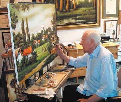 Learn pastel painting
