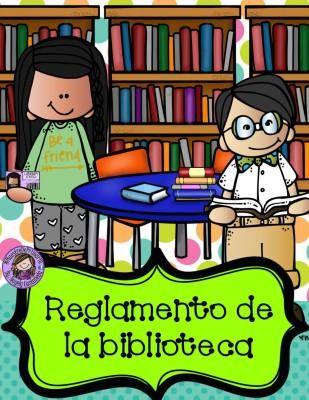 Reglamento de la BIBLIOTECA ESCOLAR - Imagenes Educativas