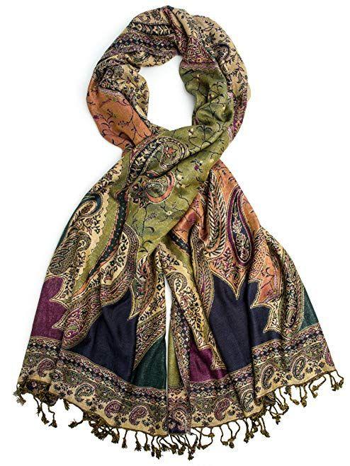 2627c3e25 Bohomonde, Hana Reversible Cashmere Silk Pashmina Scarf, hand made in India  Review