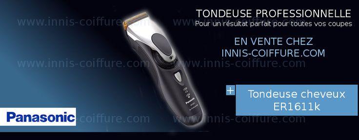[RASAGE PROFESSIONNEL] Pour des coupes de #cheveux réussies, il faut du matériel de pro, c'est pourquoi , Innis Coiffure France vous conseille la #tondeuse Panasonic ER1611k. Sa roue pivotante permet le réglage de la longueur de coupe en 5 niveaux ( de 0.8 à 2 mm). En vente en ligne http://www.innis-coiffure.com/tondeuse-cheveux-panasonic-er…