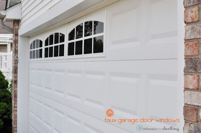 Delineate Your Dwelling: How to install Faux Garage Windows