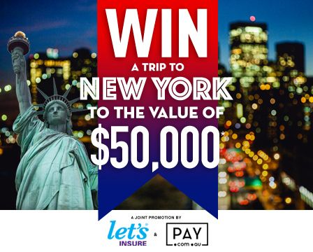 Hey there, I just entered to win the trip of a lifetime to New York, valued at $50k! To enter, visit -