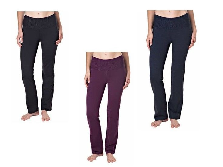 NWT Tuff Athletics Ladies Active Legging Yoga Pant High-Rise/High-Waist/Slim Fit #TuffAthletics #Leggings #CasualYogaRelaxation