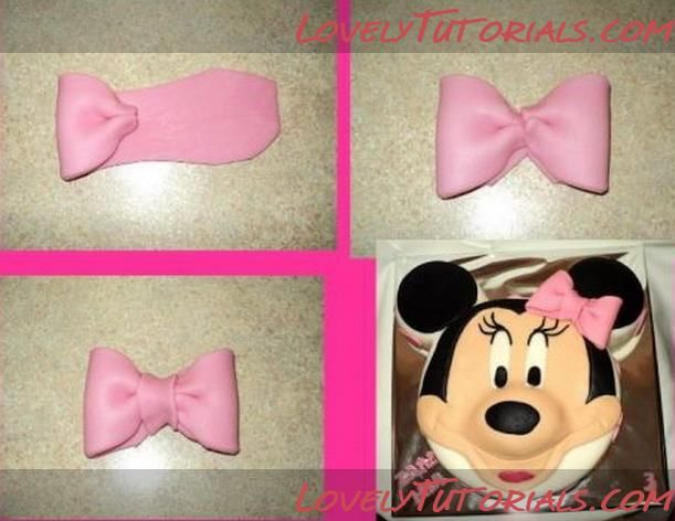 How to make Minnie Mouse cake