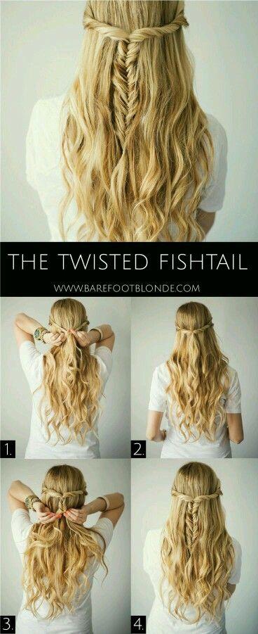 Twisted waterfall fishtail