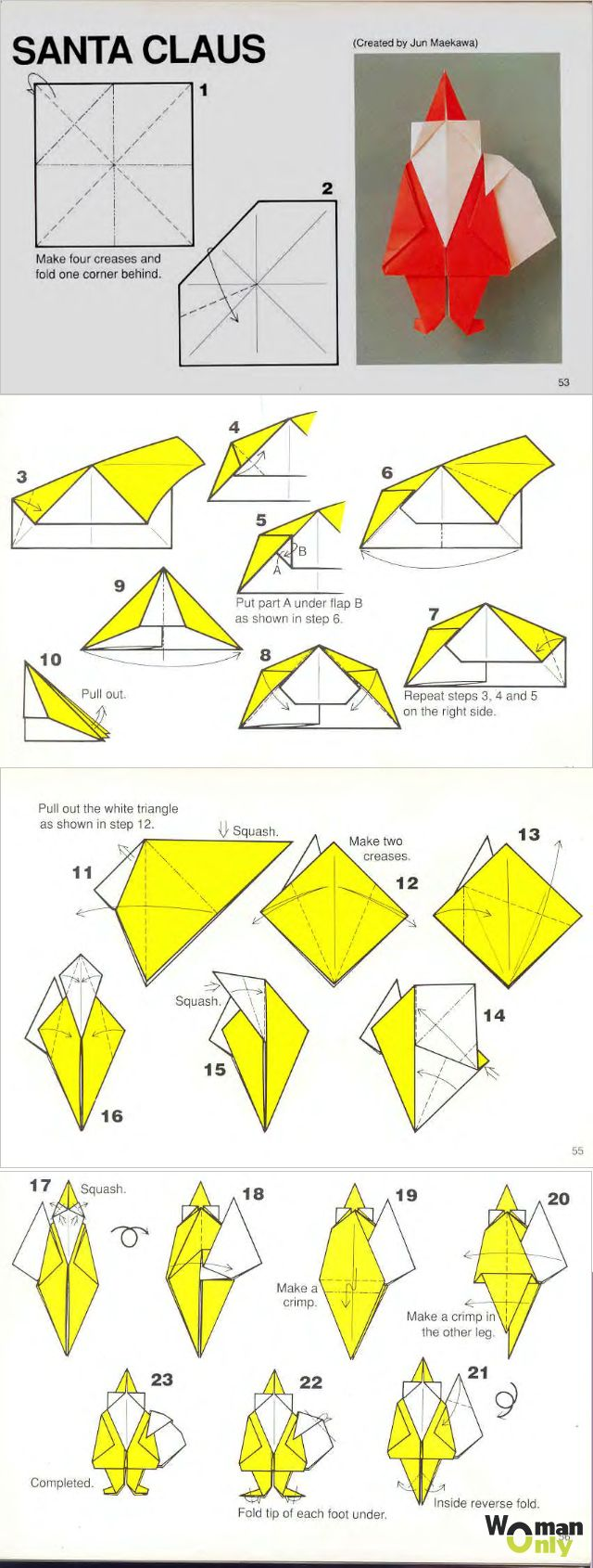 44 Best Mikul Images On Pinterest Advent Christmas Time And Craft Origami Diagrams Nativity Diy Cards Tree Paper Oragami Art