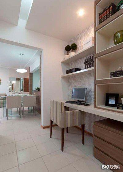DECORAÇÃO BARATA Ao reformar a casa, todos os ambientes devem aliar conforto com praticidade. Contudo o escritório, espaço reservado para realização de tra